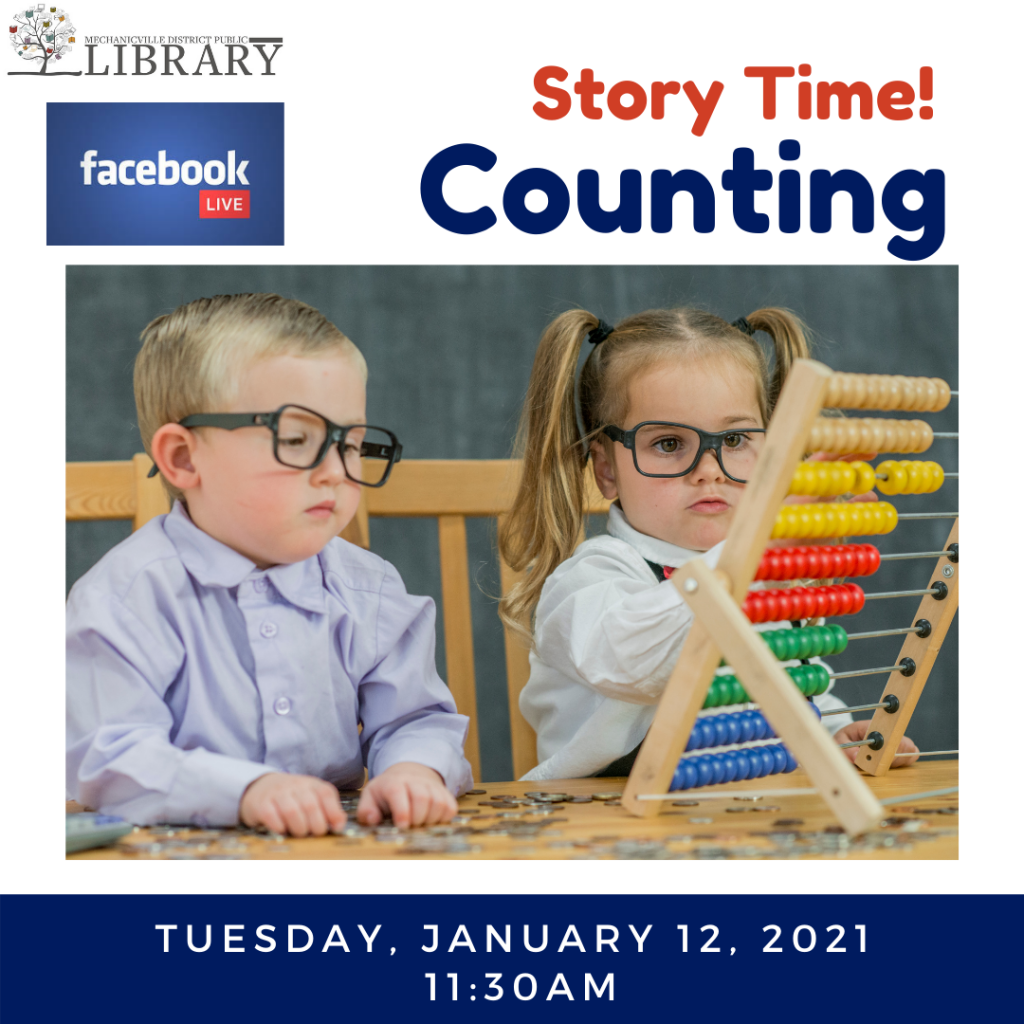 Story Time: Counting @ Mechanicville District Public Library