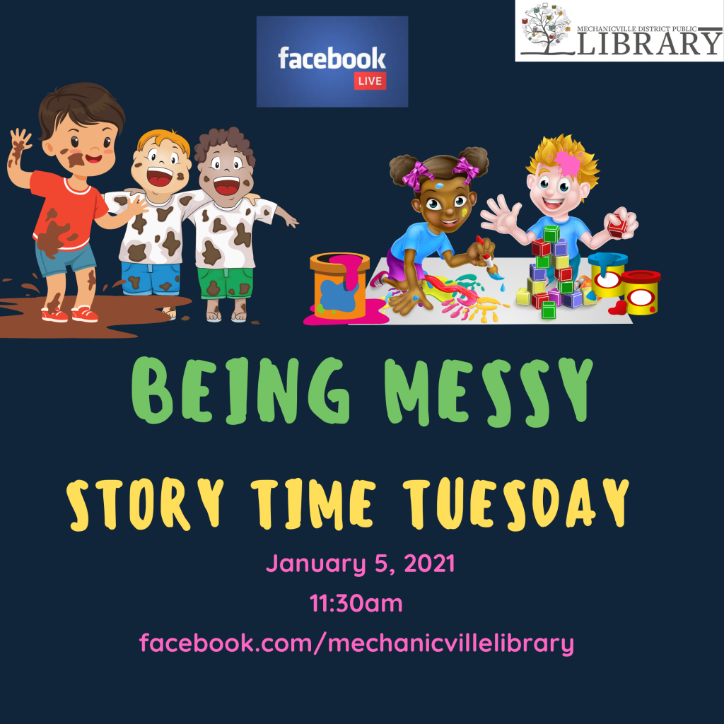 Story Time: Messy @ Mechanicville District Public Library