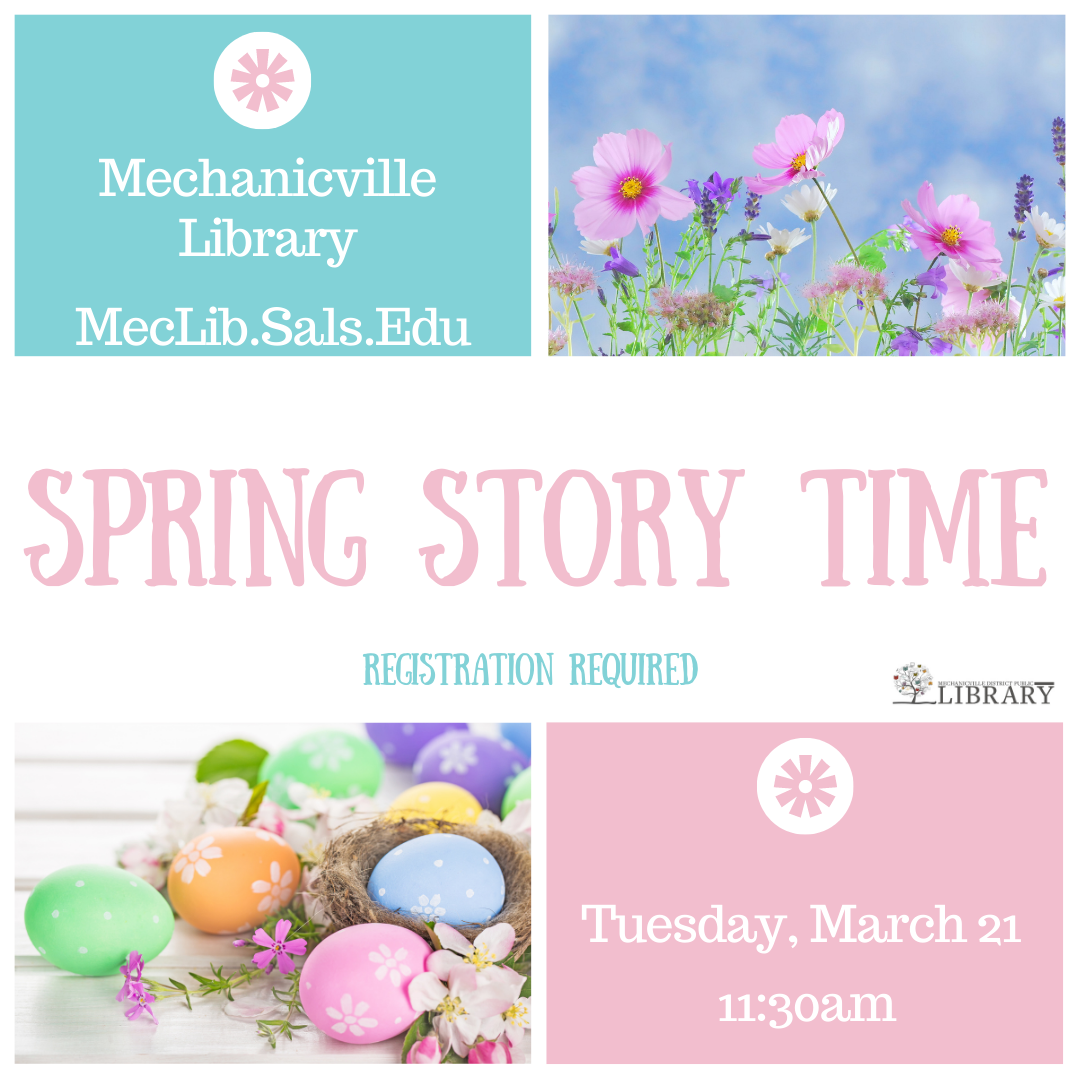 Spring Story Time @ Mechanicville District Public Library | Mechanicville | New York | United States