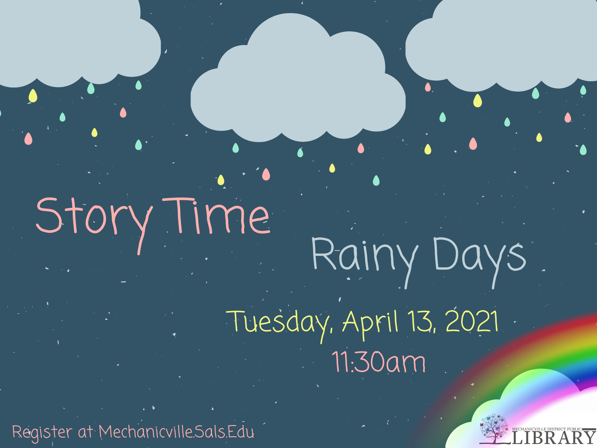 Story Time: Rainy Days! @ Mechanicville District Public Library | Mechanicville | New York | United States