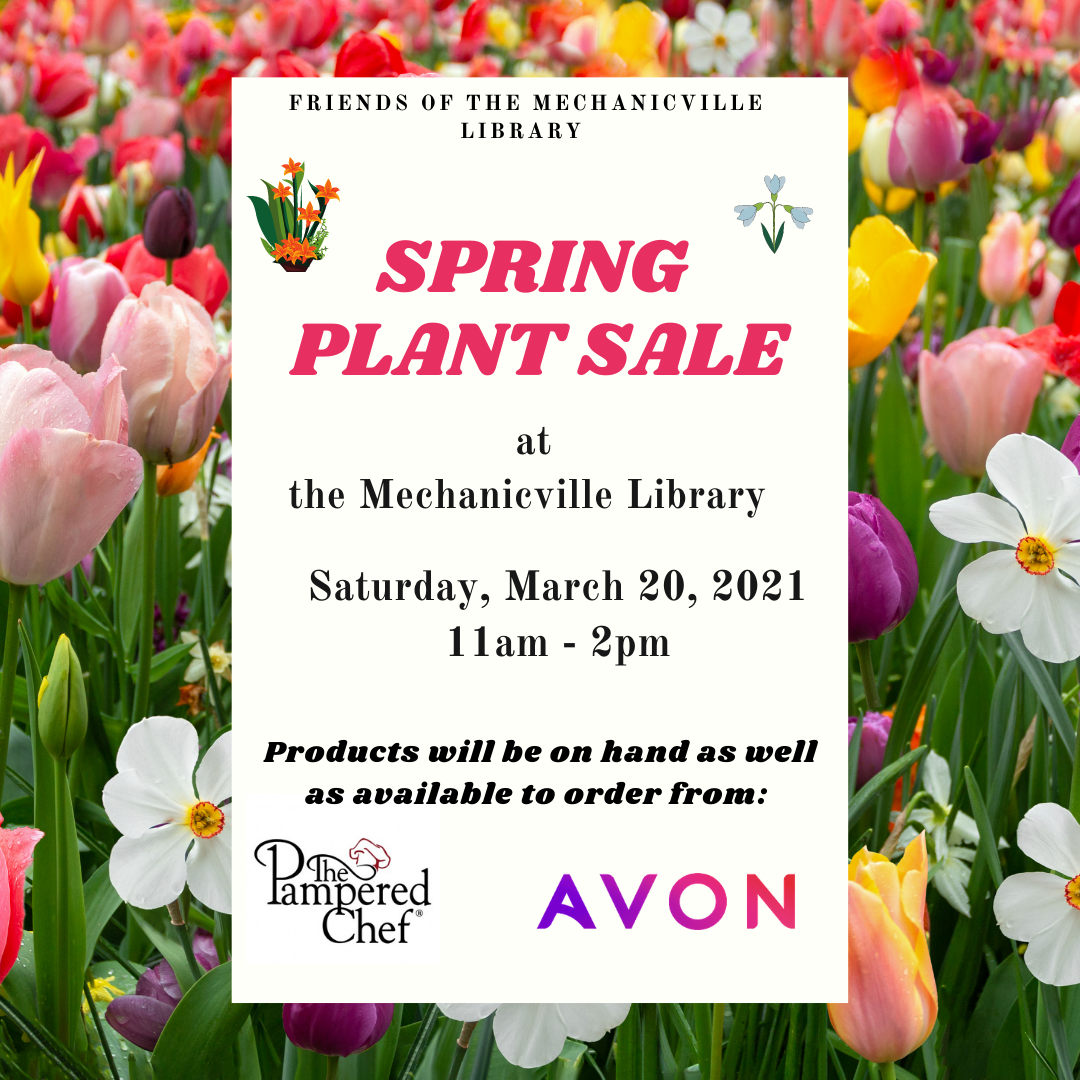Spring Plant & Vendor Sale - Friends of the Mechanicville Library @ Mechanicville District Public Library | Mechanicville | New York | United States
