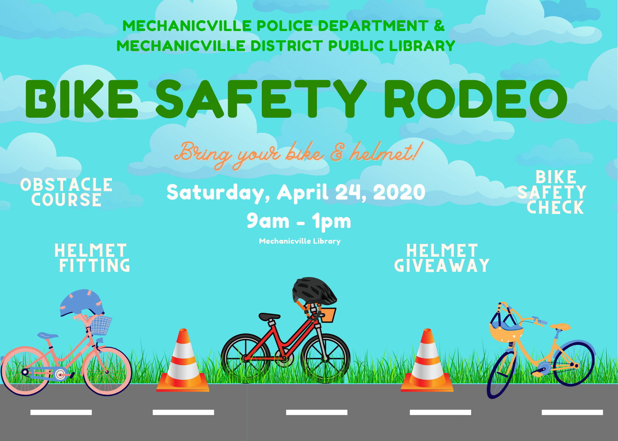 Bike Safety Rodeo @ Mechanicville District Public Library | Mechanicville | New York | United States