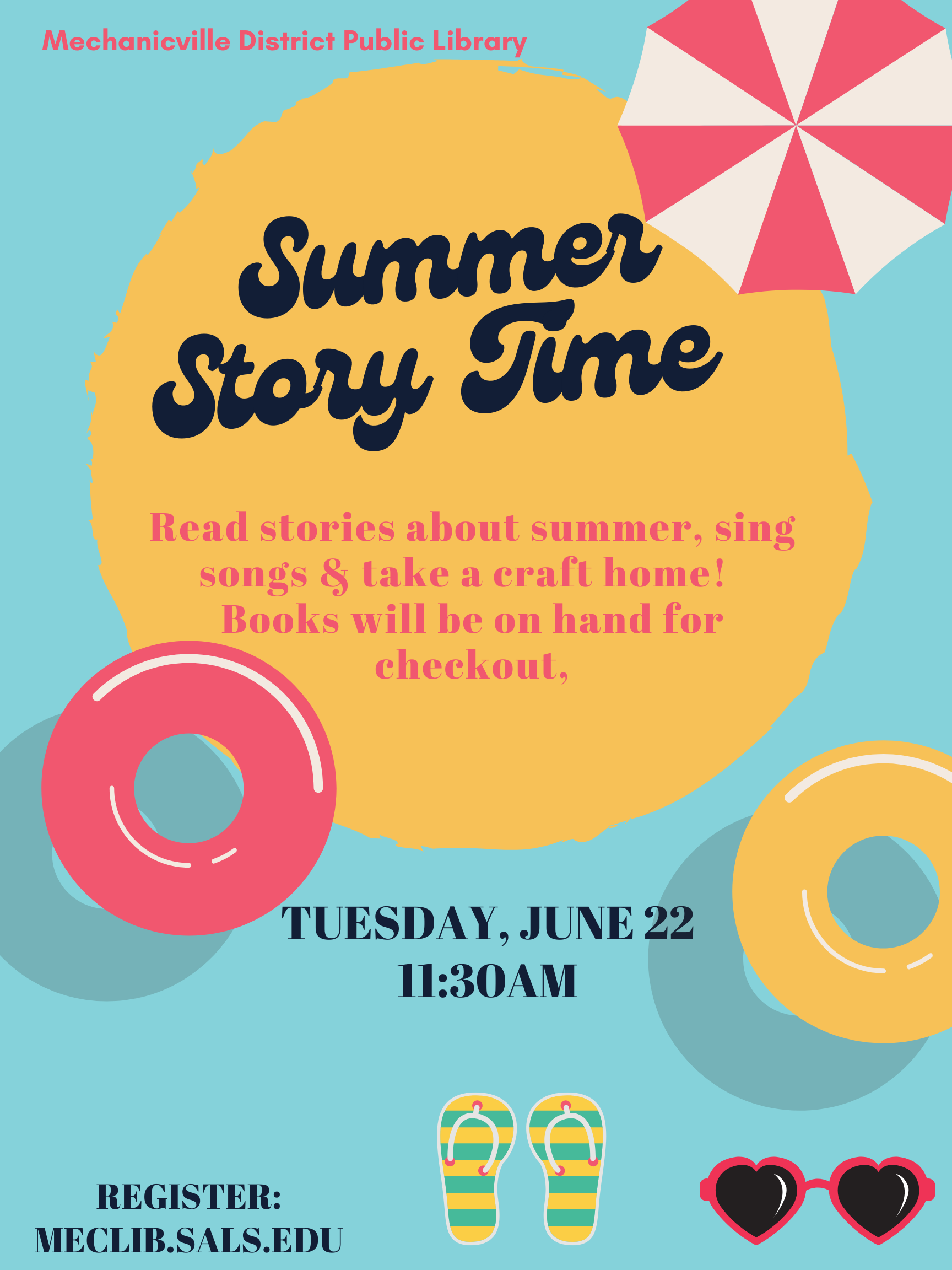 Story Time: Summer! @ Mechanicville District Public Library   Mechanicville   New York   United States