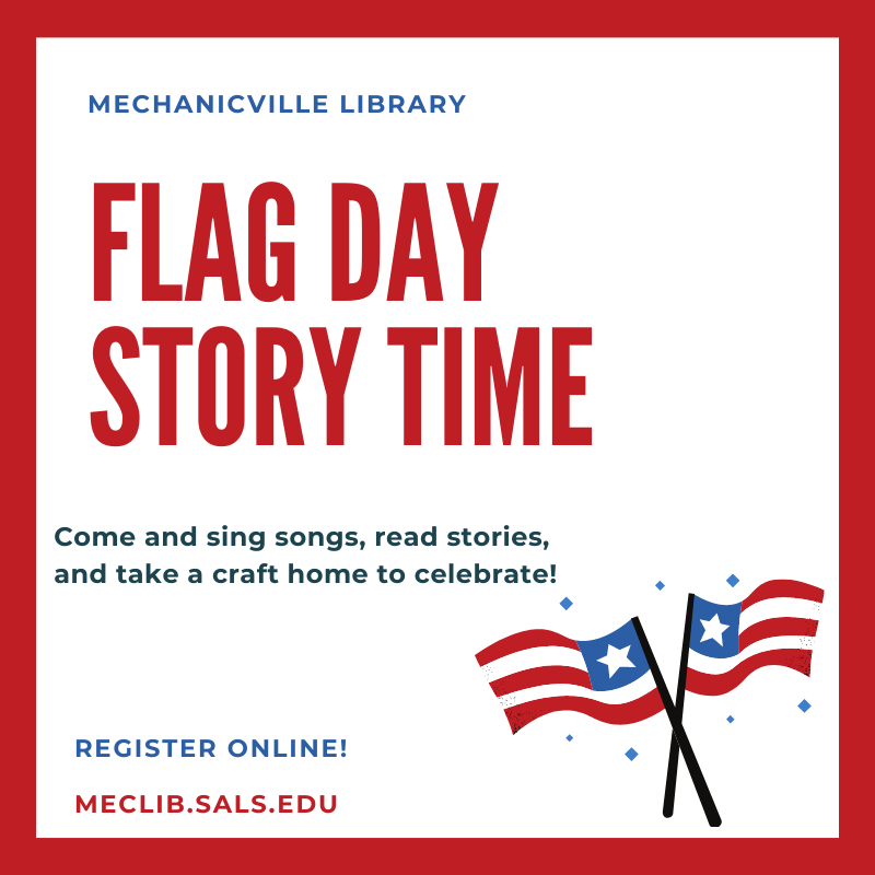 Story Time: Flag Day @ Mechanicville District Public Library   Mechanicville   New York   United States