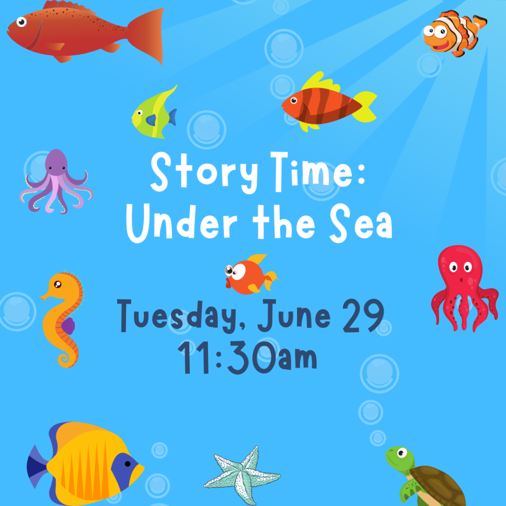 Story Time: Under the Sea @ Mechanicville District Public Library | Mechanicville | New York | United States