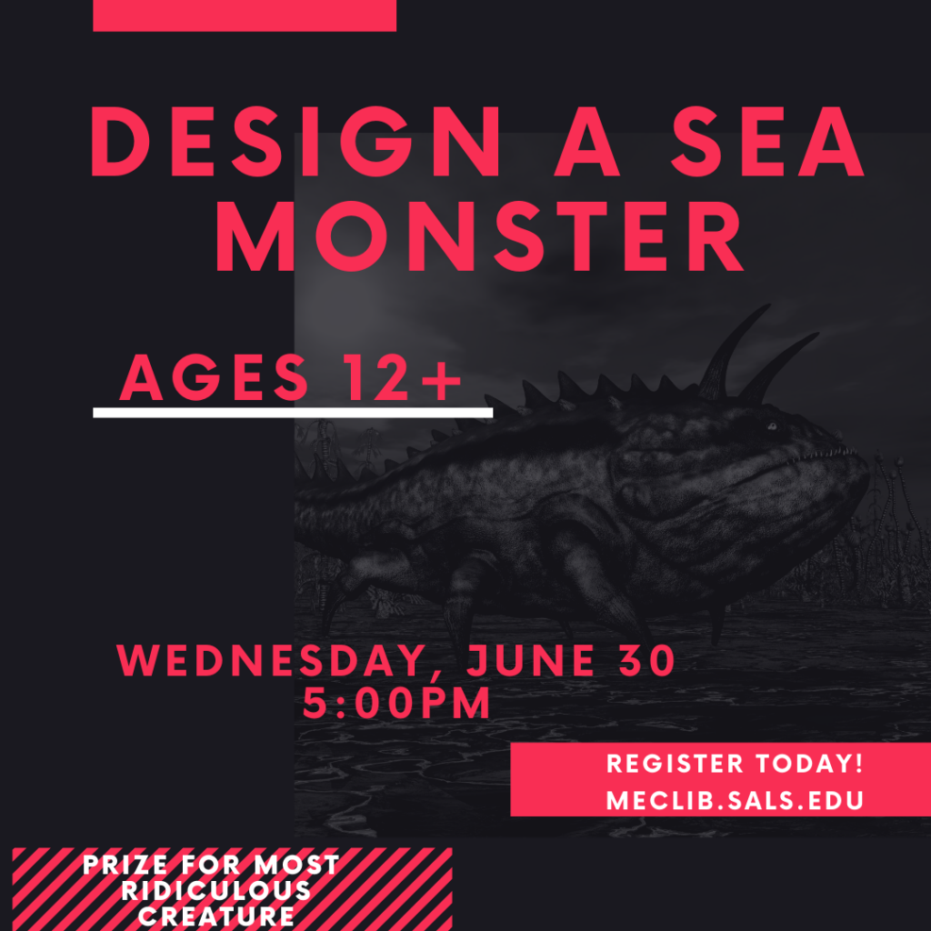 Design a Sea Monster (Ages 12+) @ Mechanicville District Public Library | Mechanicville | New York | United States