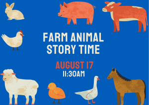 Farm Animal Story Time @ Mechanicville Library | Mechanicville | New York | United States