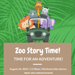Zoo Story Time @ Mechanicville District Public Library | Mechanicville | New York | United States