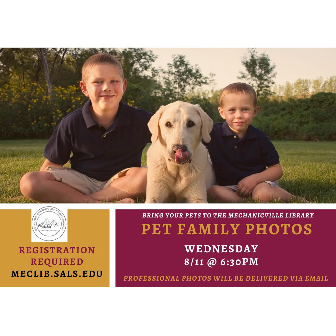 Pet Family Portraits