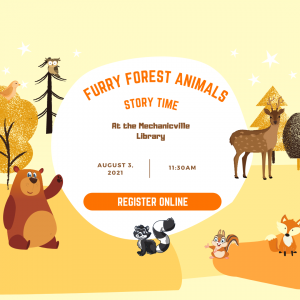 Furry Forest Animal Story Time @ Mechanicville District Public Library | Mechanicville | New York | United States