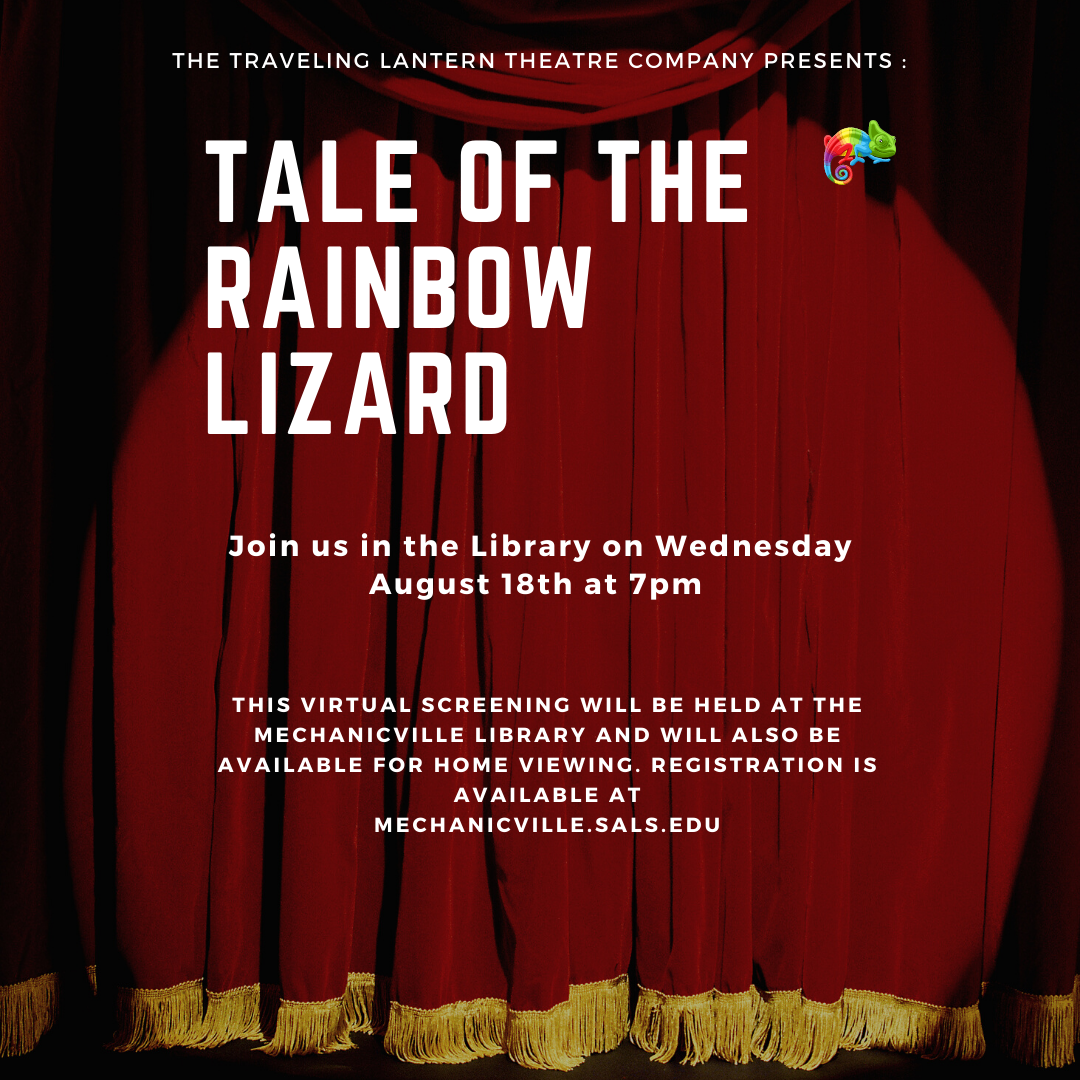 Traveling Lantern Screening: Tale of the Rainbow Lizard @ Mechanicville District Public Library | Mechanicville | New York | United States