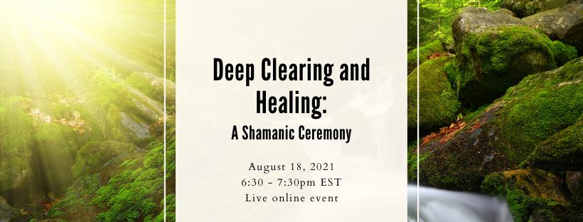 Garrett Jackson Presents Deep Clearing and Healing
