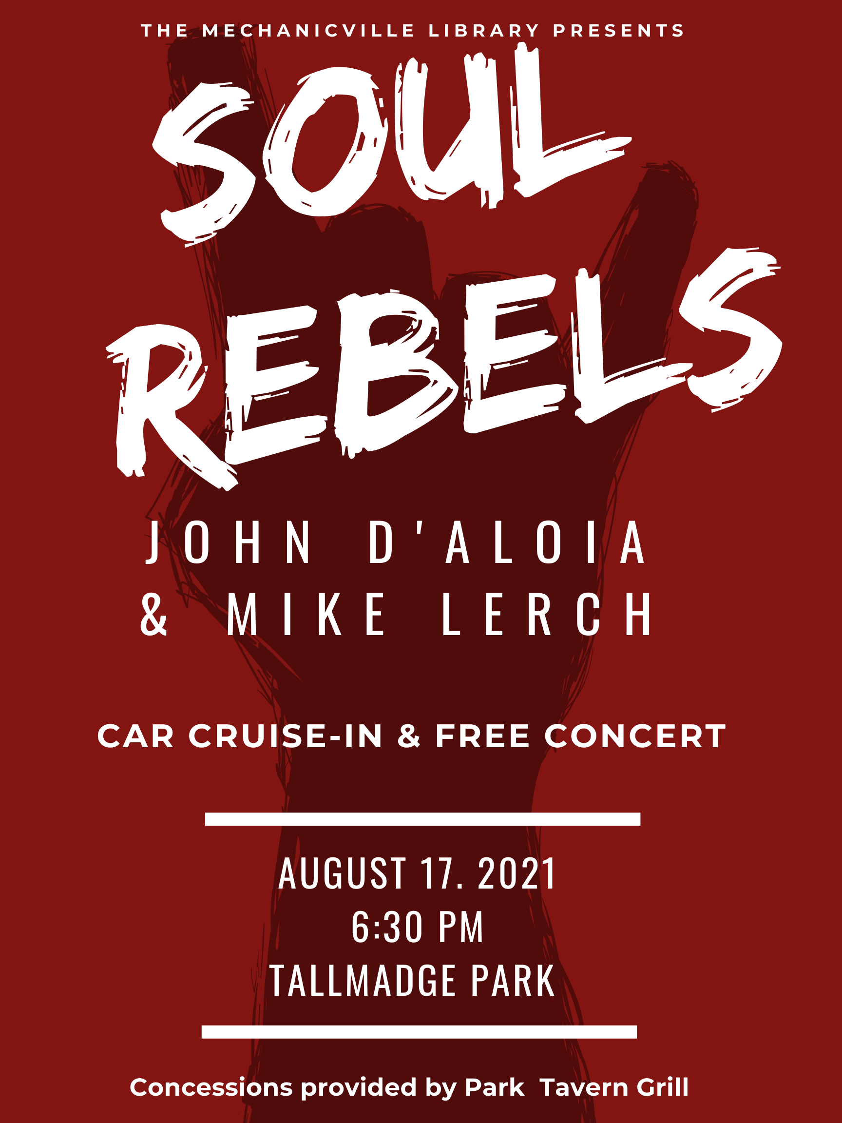 Concert & Cruise In at the Park: Soul Rebels @ Tallmadge Park | Mechanicville | New York | United States