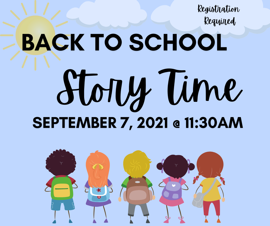 Story Time: Back to School @ Mechaicville District Public Library | Mechanicville | New York | United States