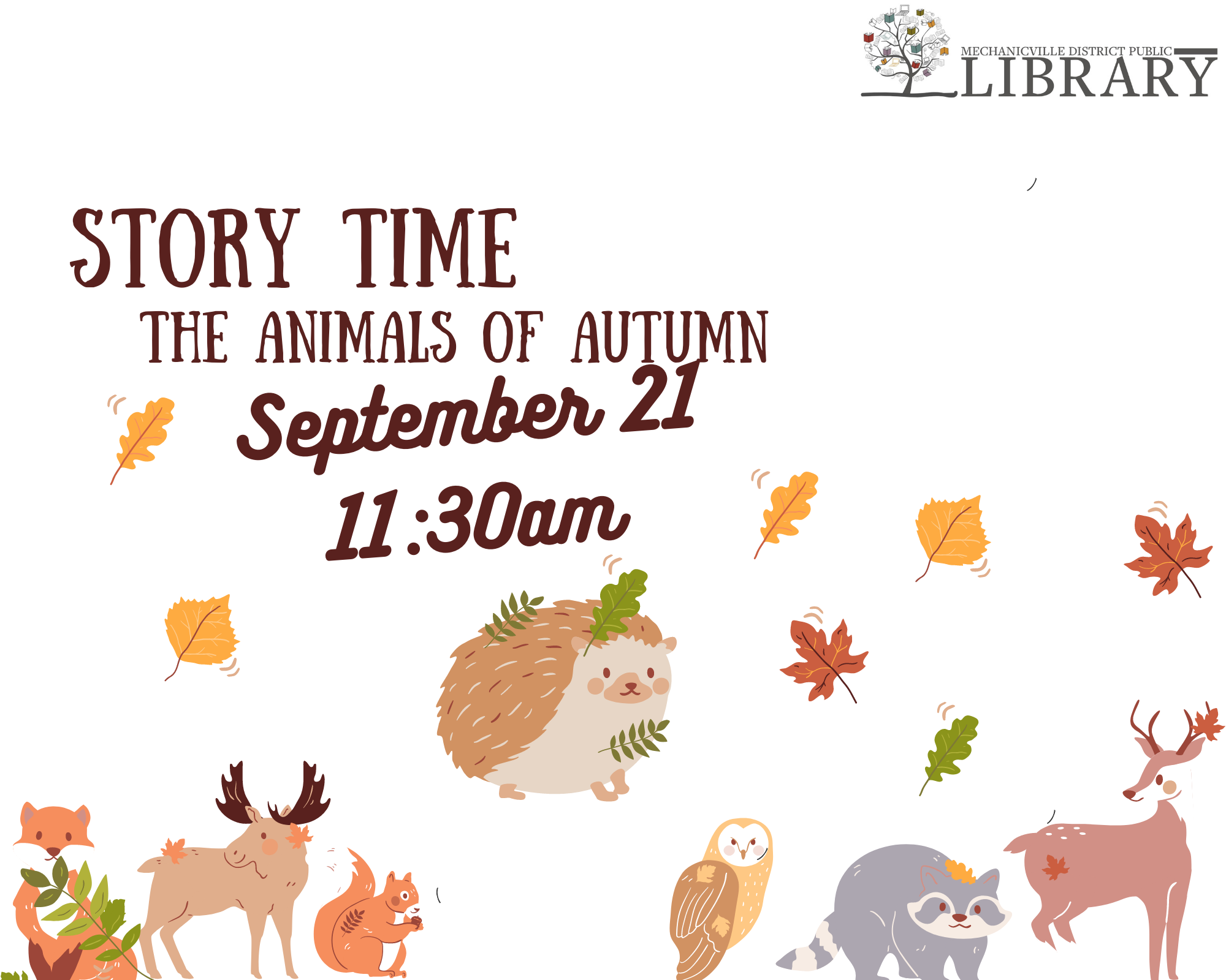 Story Time: The Animals of Autumn