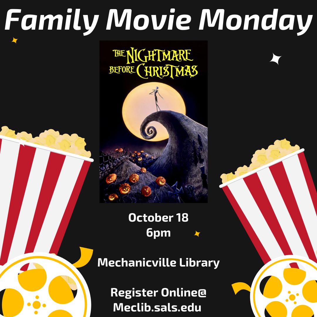 Family Movie Monday: The Nightmare Before Christmas