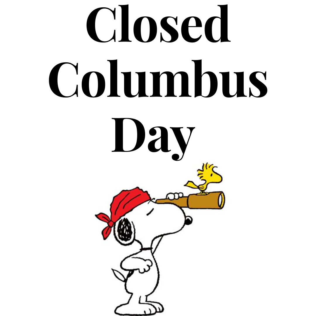 Columbus Day: Library Closed