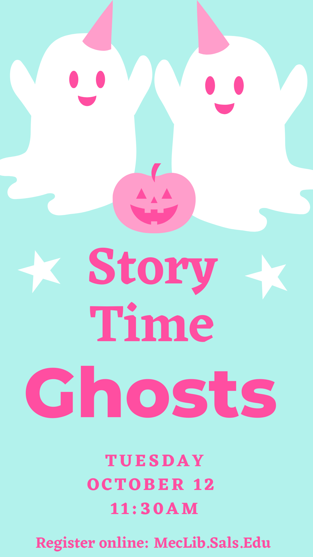 Story Time: Ghosts