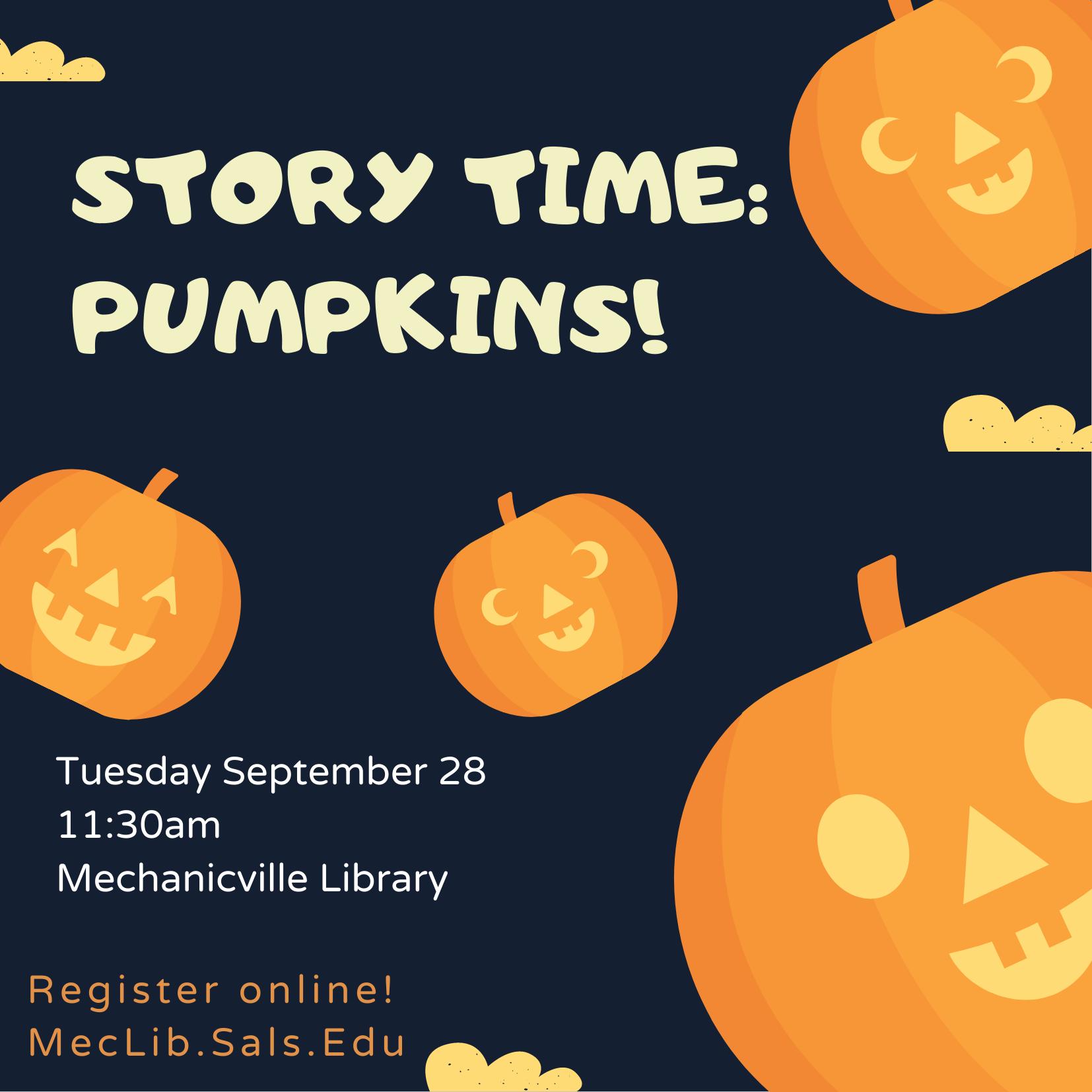 Story Time: Pumpkins