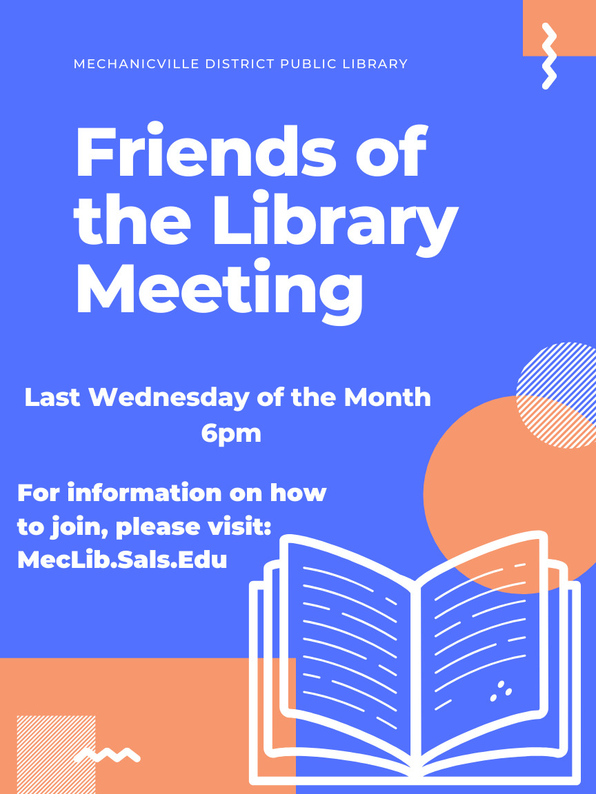 Friends of the Mechanicville Library - Meeting