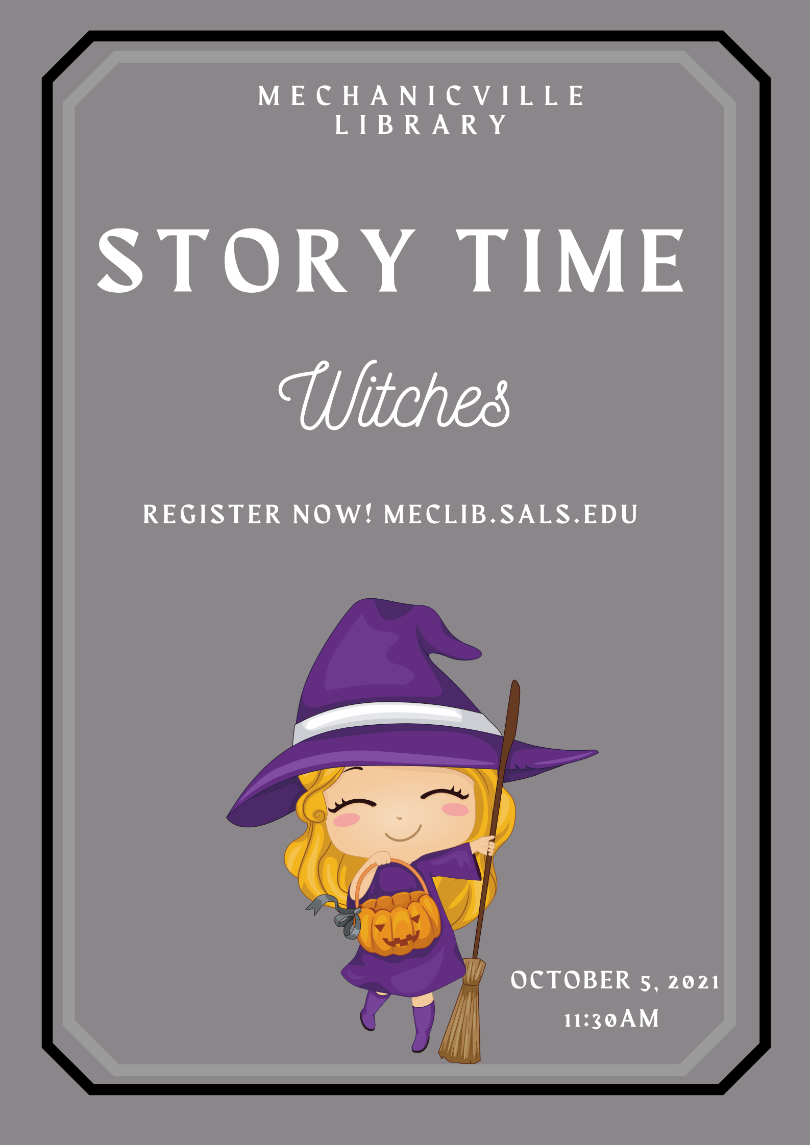 Story Time: Witches @ Mechanicville District Public Library | Mechanicville | New York | United States